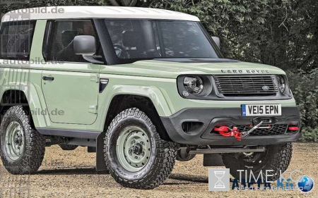 Фото нового «вездехода» Land Rover Defender попали в сеть
